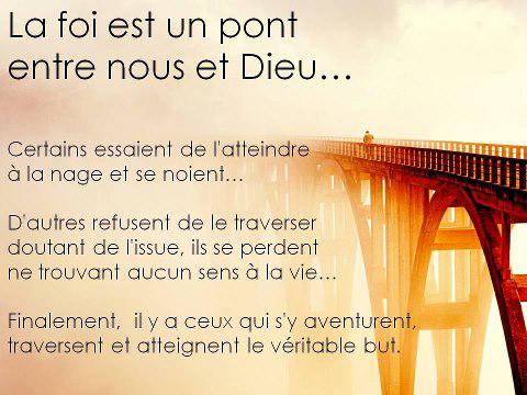 Quand je pense à Dieu/je blogue l'attente du ''Temps de l'Avent'' avant le temps Foi-pont-qui-sauve