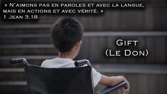 Le don : un reflet du coeur de la Loi de Dieu en vidéo