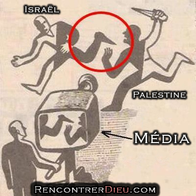 objectivite mensonge media israel palestine