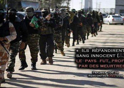 Le conflit israélo-palestinien disséqué – Partie 7 – Jihad, Hamas, Bouclier Humain : L'effroyable Vérité annoncée dans la Bible !