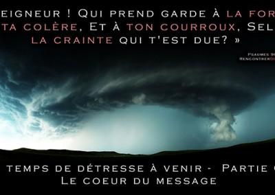 Urgent : Les temps de détresse à venir – Série de messages audio personnels de Thomas du site RencontrerDieu.com – PARTIE 02