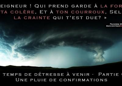Urgent : Les temps de détresse à venir – Série de messages audio personnels de Thomas du site RencontrerDieu.com – PARTIE 03