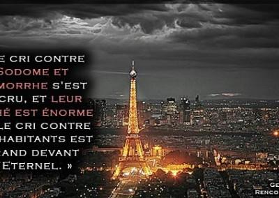 ATTENTATS DE PARIS DU VENDREDI 13, MESSAGE URGENT – Le cœur est atteint: La France doit se repentir ou elle périra.