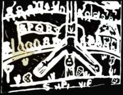 croix neron crucifixion