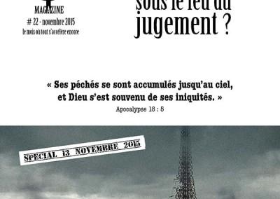 Paris est appelée à la repentance – Spécial 13 novembre 2015