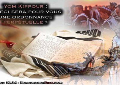Fête de Yom Kippour : Le Véritable Messie Yéshoua face aux faux jésus