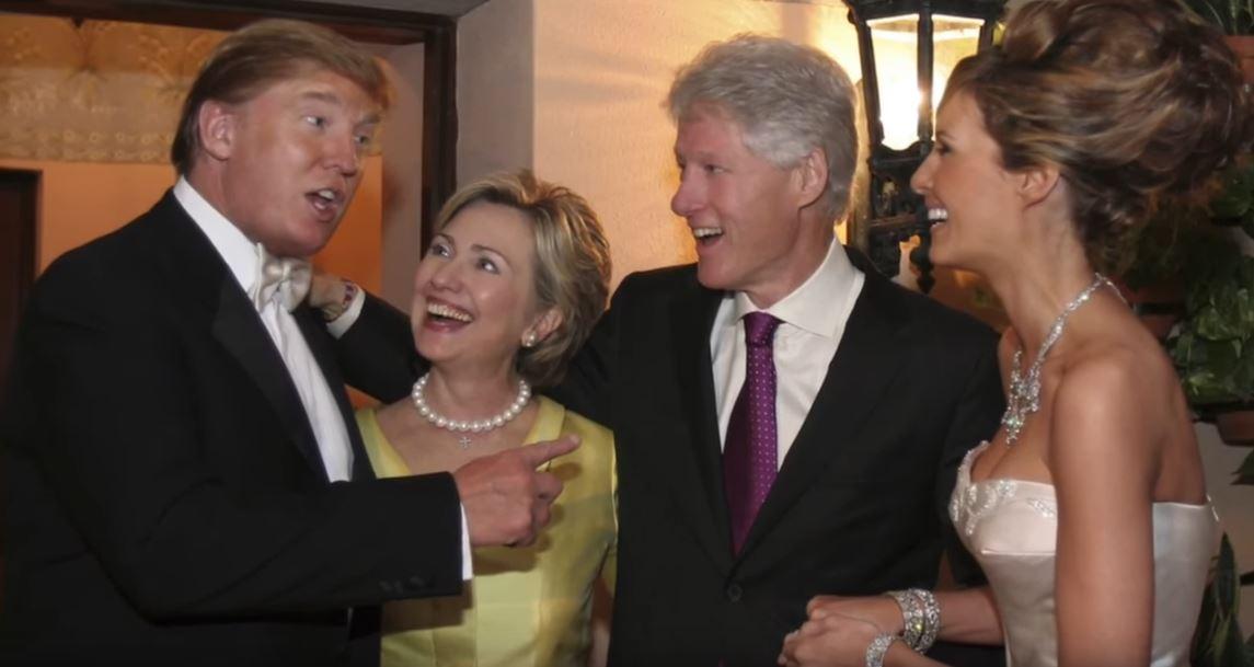 Clinton trump mariage 2005 ami