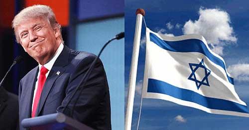 Donald-Trump-israel-drapeau