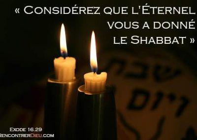 Top 10 des preuves bibliques qui montrent pourquoi nous devrions garder le Shabbat – Paracha Bechala'h