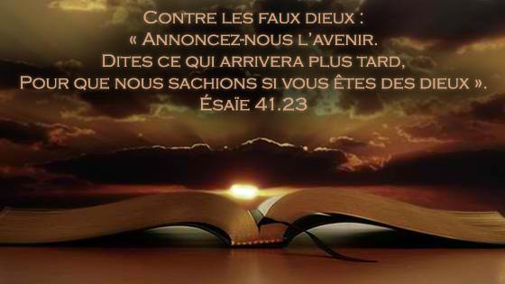 Le sceau de Dieu dans la Bible : l'incroyable preuve par l'extraordinaire réalisation des prophéties