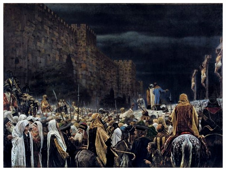 crucifixion tenebre jesus