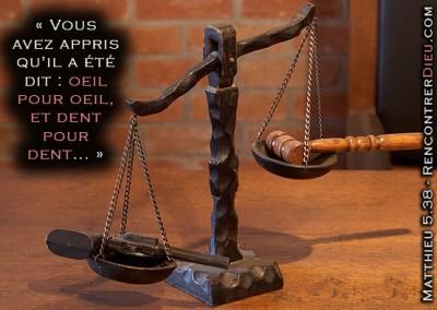La « loi du talion » : le Juif sanguinaire – Que dit la Torah ?
