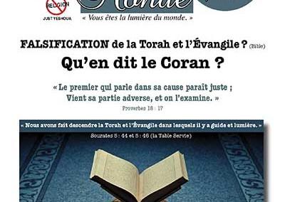 Falsification de la Torah et de l'Évangile ? Qu'en dit le Coran ?