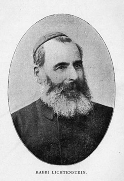 Rabbin Isaac Lichtenstein