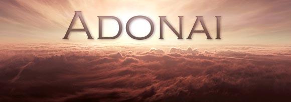 Adonaï, nom de Dieu.