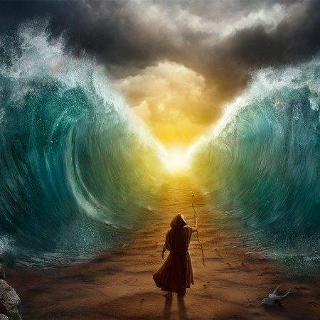 Une vidéo OVNI incroyable qui deviendra culte ! - Page 13 Mosh%C3%A9-moise-mer-jonc-rouge-traversee-torah-dieu-hashem