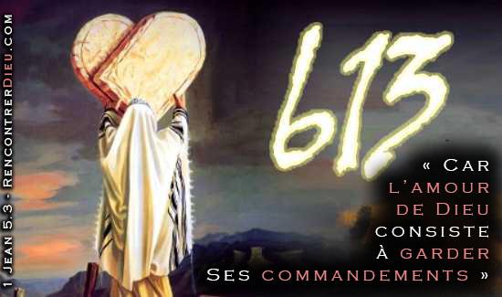 L'amour de Dieu consiste à garder ses commandements