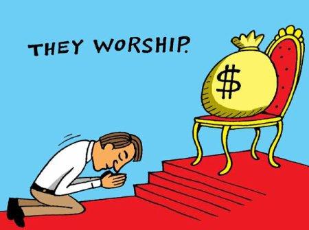 argent mamon amour dieu bible