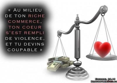 Le miroir :  une merveilleuse leçon sur les dangers de l'argent et des richesses