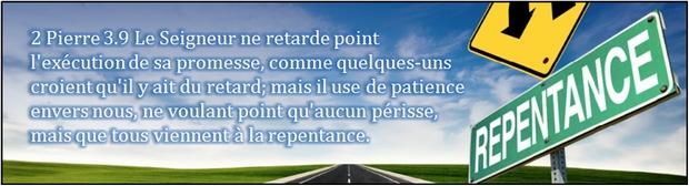 2-Pierre-3-9 repentance teshouva