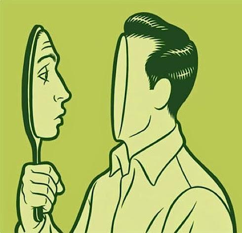 diable accusateur miroir propre péché
