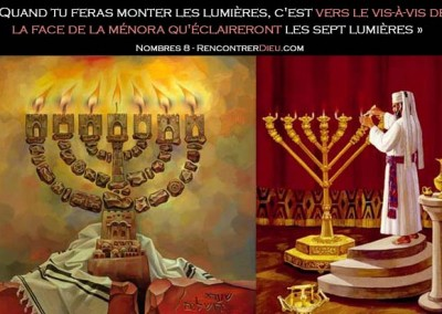 Les secrets de la menorah : l'élection d'Israël, Le Messie et la place des nations – Paracha Behaaloteha (Nombres 8 à 12)