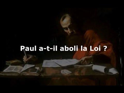 paull loi abolition torah