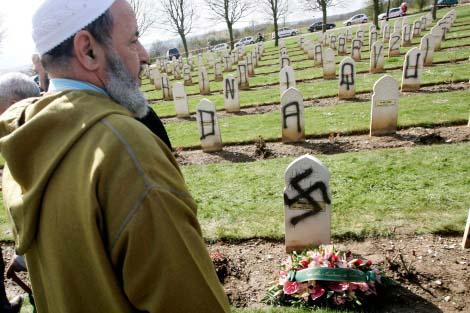 Cimetiere musulman profanation mod