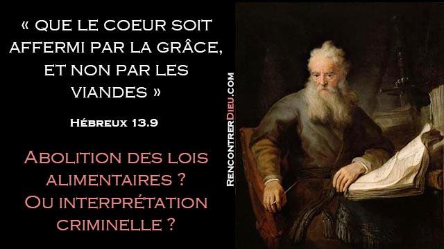 coeur grace viande hébreux loi abolition 02