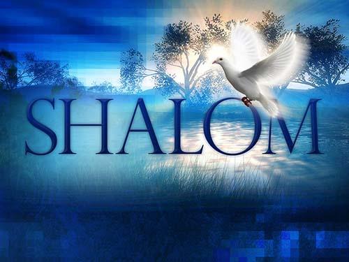 shalom paix dieu loi grace