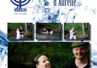 Baptême et Témoignage d'Aurélie