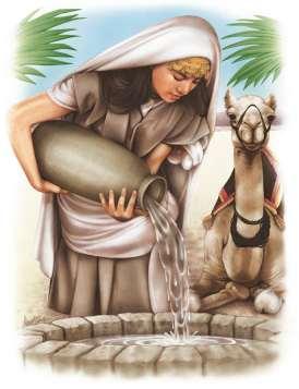 rebecca-camels chameau rivka eliezer