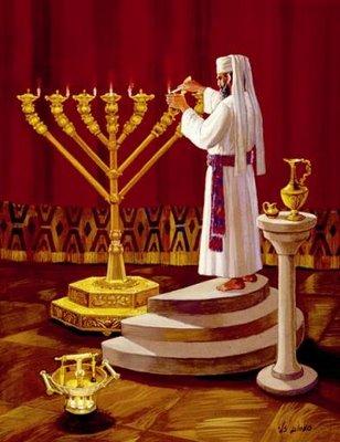 La-Menorah-dans-le-Temple-de-Jérusalem
