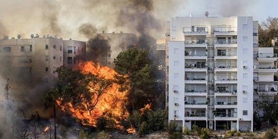 feu incendie israel 550
