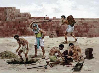 esclavage servitude egypte israel