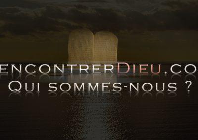 Site web RencontrerDieu.com : qui sommes-nous ?