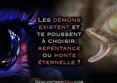 Les démons existent et te poussent à un choix: repentance ou honte éternelle ? Paracha Pin'has