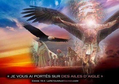 Le sacrifice de Dieu pour Son peuple et le secret de l'aigle