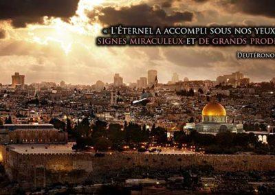 Le conflit Israélo-palestinien disséqué Partie 10 : le déluge de miracles de la fin des temps