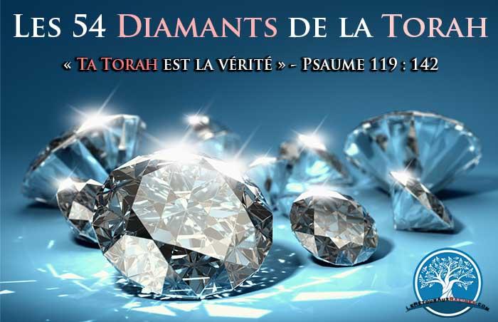 Etude De la Torah avec les 54 diamants de la paracha